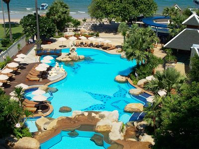 Отель Long Beach Garden Hotel & Spa 4* Паттайя Таиланд