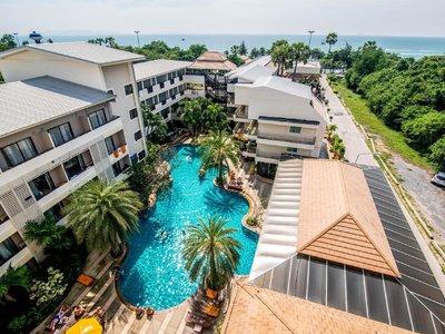 Отель Sea Breeze Jomtien Resort 3* Паттайя Таиланд