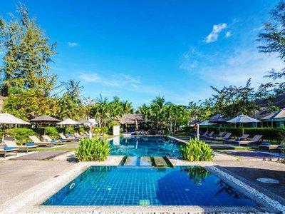 Отель Krabi Aquamarine Resort 3* Краби Таиланд