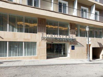 Отель Eurostars Madrid Gran Via 4* Мадрид Испания