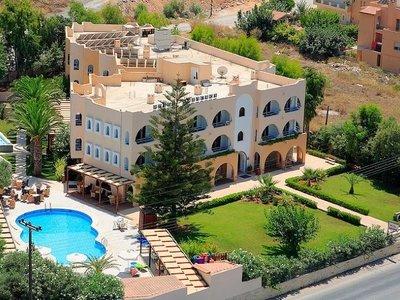 Отель Karteros Hotel 3* о. Крит – Ираклион Греция