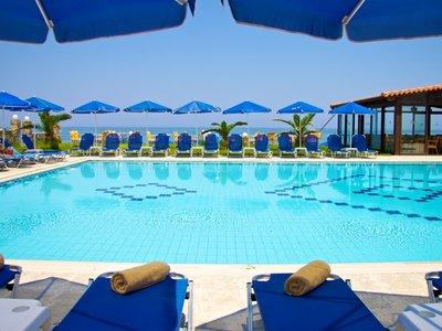 Отель Bomo Krini Beach 3* о. Крит – Ретимно Греция