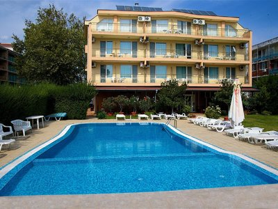 Отель Магнолия 2* Солнечный берег Болгария