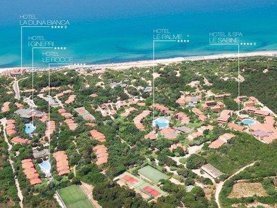 Отель Le Dune Resort & SPA 4* о. Сардиния Италия