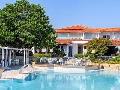 Отель Antigoni Beach Resort Hotel & Suites 4* Халкидики – Ситония Греция