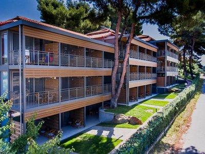 Отель Blue Dolphin Hotel 4* Халкидики – Ситония Греция