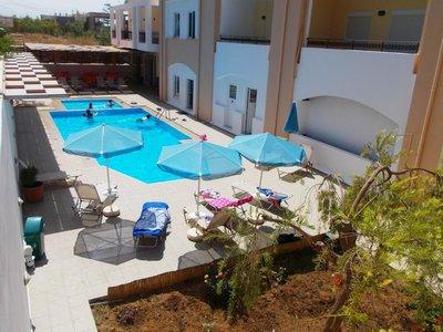 Отель Matthias Hotel Apartments 2* о. Крит – Ретимно Греция