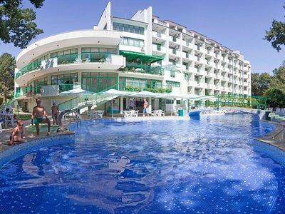 Отель Здравец 4* Золотые пески Болгария