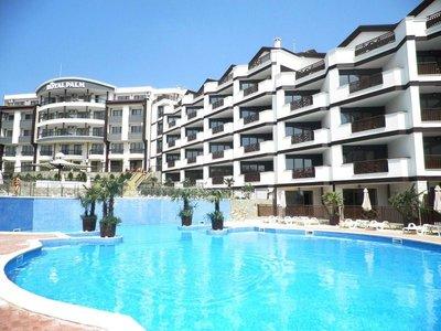 Отель Royal Palm Apart Hotel 2* Святой Влас Болгария
