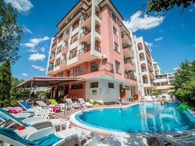 Отель Степ 1* Солнечный берег Болгария