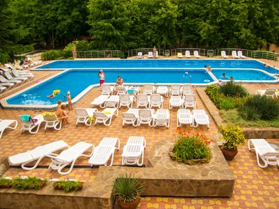 Отель Golden Family Resort 3* Алушта Крым