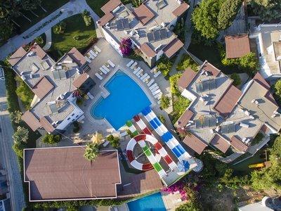 Отель Smartline Bitez Garden Life Hotel & Suites 3* Бодрум Турция