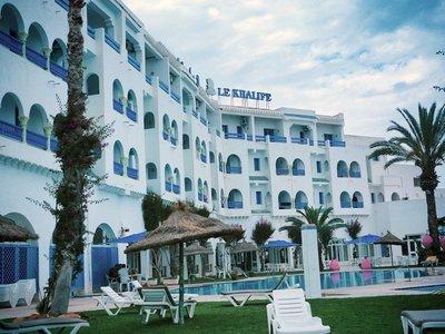 Отель Le Khalife Hotel 3* Хаммамет Тунис