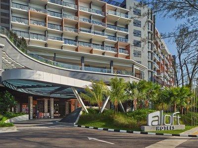 Отель Aloft Langkawi Pantai Tengah Hotel 4* о. Лангкави Малайзия