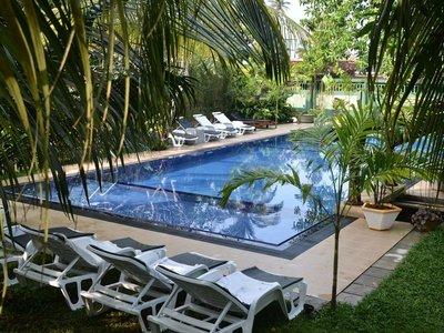 Отель Susantha Garden Hotel 3* Бентота Шри-Ланка