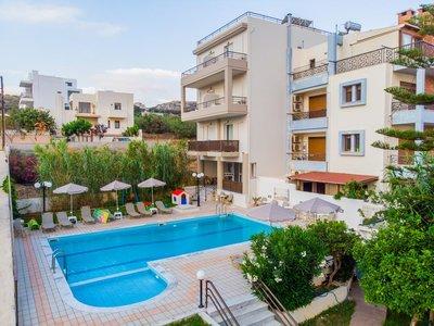 Отель Eltina Hotel 2* о. Крит – Ретимно Греция