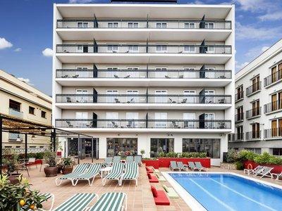 Отель Aqua Hotel Bertran Park 4* Коста Брава Испания