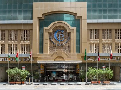 Отель Crystal Plaza Hotel Sharjah 2* Шарджа ОАЭ