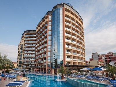 Отель Smartline Meridian Hotel 4* Солнечный берег Болгария