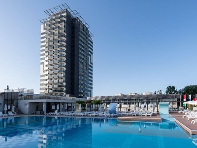 Отель Burgas Beach Hotel 4* Солнечный берег Болгария