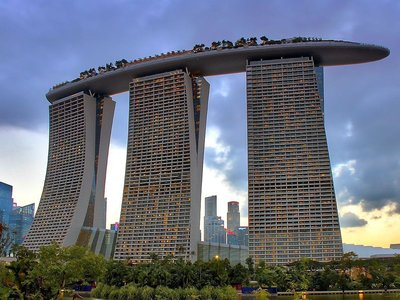 Отель Marina Bay Sands 5* Сингапур Сингапур