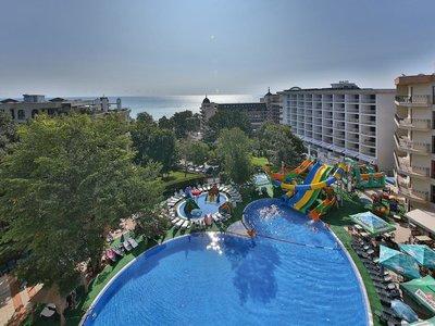 Отель Prestige Hotel & Aqua Park 4* Золотые пески Болгария