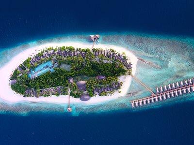 Отель Dreamland Maldives Resort 4* Баа Атолл Мальдивы