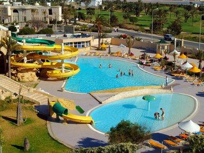 Отель Houda Golf & Beach Club 3* Монастир Тунис