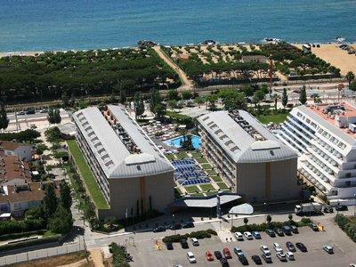 Отель Aqua Hotel Onabrava & Spa 4* Коста Дель Маресме Испания