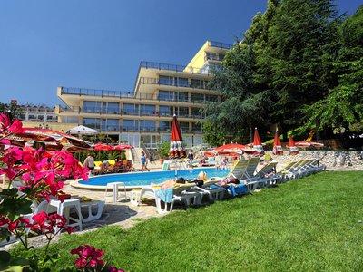 Отель Gradina Hotel 3* Золотые пески Болгария