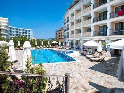 Отель Siena Palace 4* Приморско Болгария