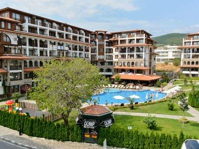 Отель Olymp Apartcomplex 4* Святой Влас Болгария