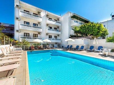 Отель Anna Hotel 2* о. Крит – Ираклион Греция