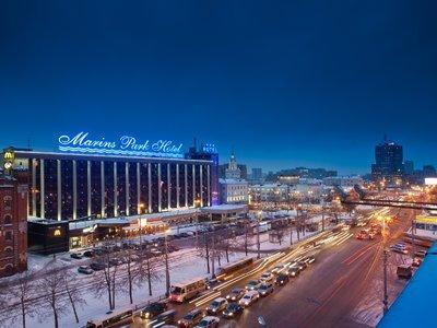 Отель Маринс Парк Отель 3* Екатеринбург Россия