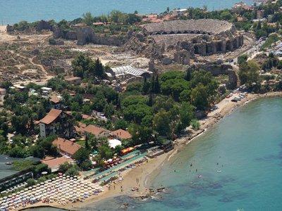Отель Leda Beach Hotel 3* Сиде Турция