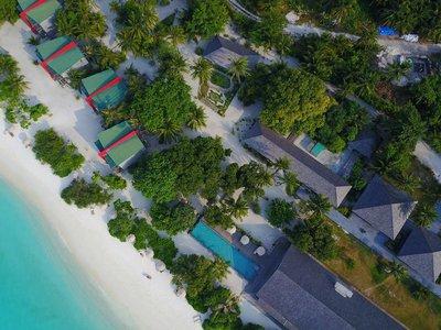 Отель The Barefoot Eco Hotel 4* Гаафу Алифу Атолл Мальдивы