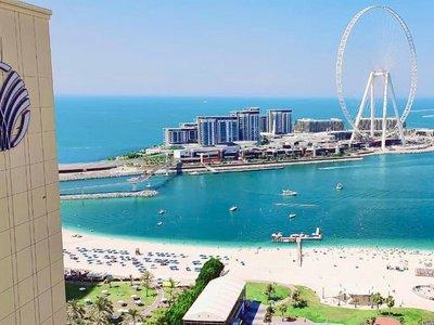 Отель Amwaj Rotana 5* Дубай ОАЭ