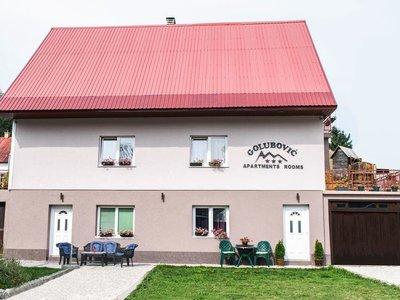 Отель Golubovic Apartments 3* Жабляк Черногория