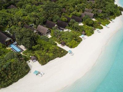 Отель Four Seasons Maldives at Landaa Giraavaru Resort 5* Баа Атолл Мальдивы