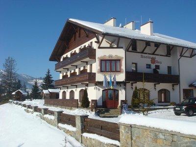 Отель Альпийский двор 3* Славское Украина - Карпаты