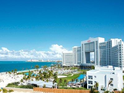 Отель Riu Palace Peninsula Hotel 5* Канкун Мексика