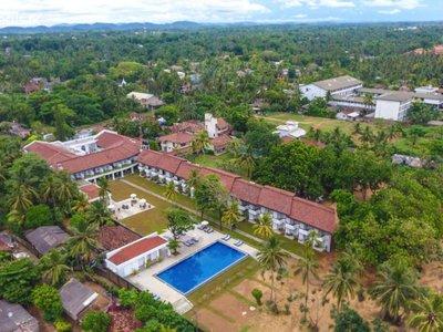Отель Hibiscus Beach Hotel 3* Калутара Шри-Ланка