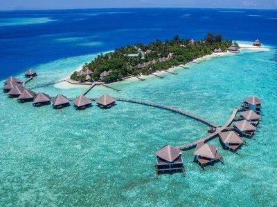 Отель Adaaran Club Rannalhi 4* Южный Мале Атолл Мальдивы