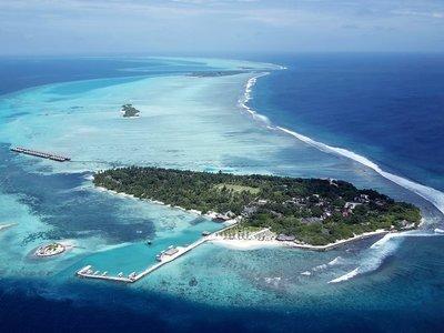 Отель Adaaran Select Hudhuran Fushi 4* Северный Мале Атолл Мальдивы