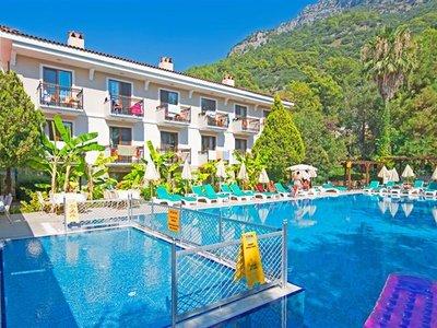 Отель Perdikia Beach Hotel 3* Фетхие Турция