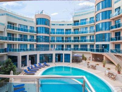 Отель Aquamarine Apart Complex 2* Обзор Болгария