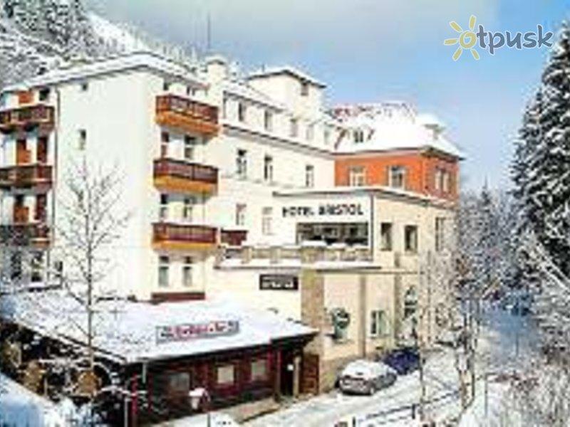 Отель Bristol 3* Бад Гаштайн Австрия