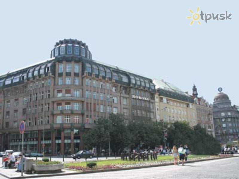 Отель Rokoko 4* Прага Чехия