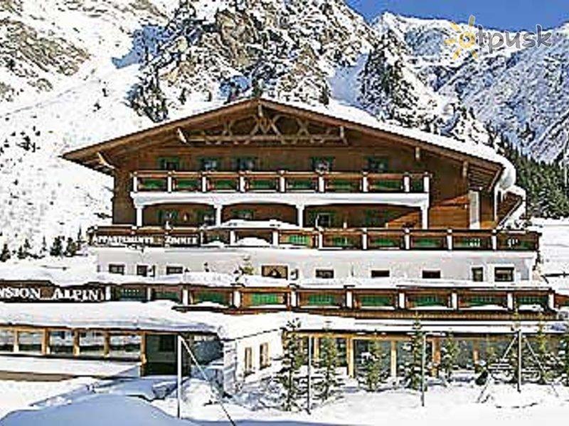 Отель Pension Alpin 3* Пицталь Австрия