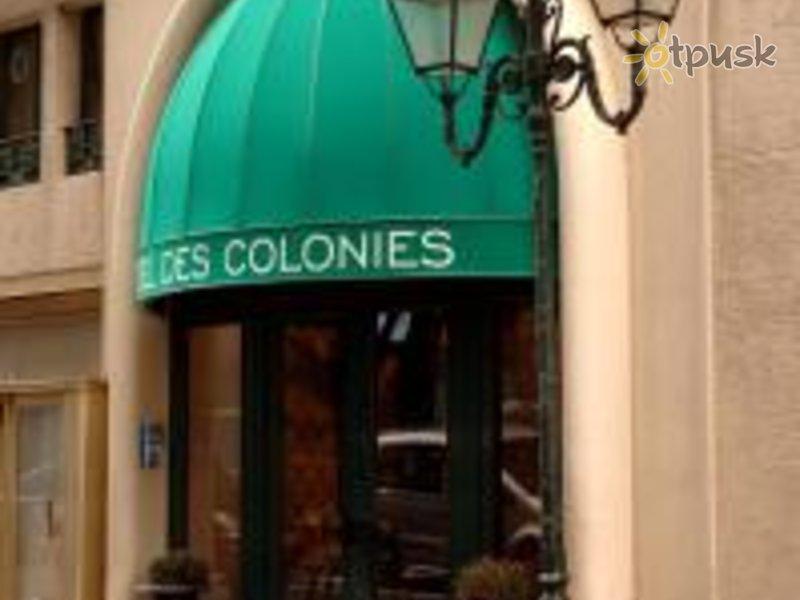 Отель Des Colonies 3* Брюссель Бельгия